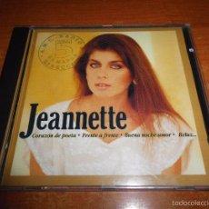 CDs de Música: JEANETTE CORAZON POETA CD ALBUM DEL AÑO 1992 CONTIENE 14 TEMAS MUY RARO PRIMERA EDICIÓN. Lote 57795431