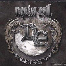CDs de Música: DREAM EVIL - THE BOOK OF HEAVY METAL - CD + DVD DIGIPACK. Lote 57802622