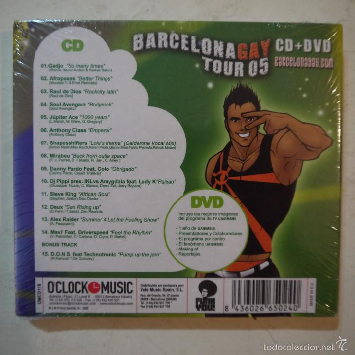CDs de Música: BARCELONA GAY TOUR 05 - CD+DVD - PRECINTADO - Foto 2 - 57808891