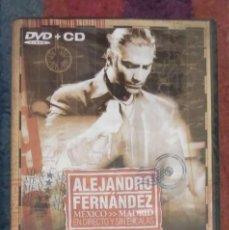 CDs de Música: ALEJANDRO FERNANDEZ (MEXICO - MADRID EN DIRECTO Y SIN ESCALAS) DVD + CD 2005 PRECINTADO. Lote 57810033