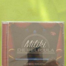 CD di Musica: MILIKI DE PELICULA - CON LA ORQUESTA SINFÓNICA DE PRAGA - PRECINTADO - PAYASOS DE LA TELE -. Lote 57811606