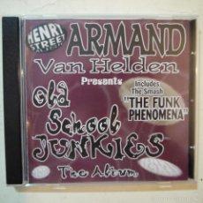 CDs de Música: ARMAND VAN HELDEN PRESENTS OLD SCHOOL JUNKIES THE ALBUM - CD 1996 . Lote 57820042