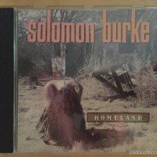 CDs de Música: SOLOMON BURKE: HOMELAND. Lote 57828048