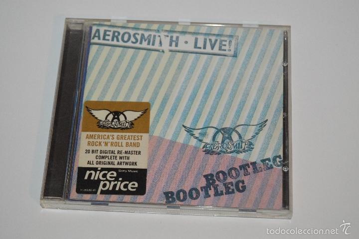 CD AEROSMITH 1978 AEROSMITH LIVE ¡ BOOTLEG BOOTLEG (Música - CD's Heavy Metal)