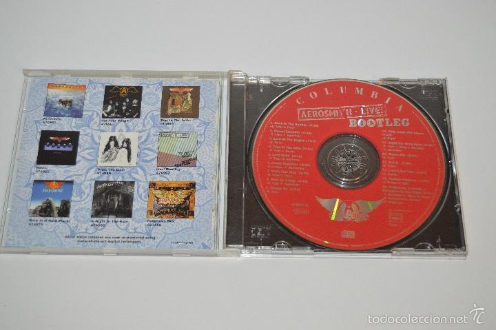 CDs de Música: CD AEROSMITH 1978 AEROSMITH LIVE ¡ BOOTLEG BOOTLEG - Foto 2 - 131667185