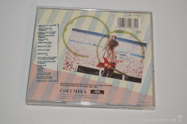 CDs de Música: CD AEROSMITH 1978 AEROSMITH LIVE ¡ BOOTLEG BOOTLEG - Foto 3 - 131667185