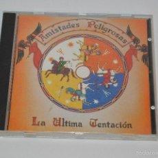 CDs de Música: CD AMISTADES PELIGROSAS LA ULTIMA TENTACION. Lote 57830334