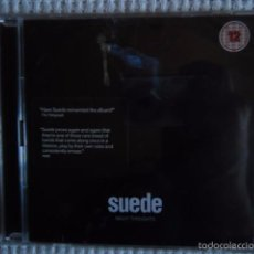 CDs de Música: SUEDE – '' NIGHT THOUGHTS '' CD + DVD MUSIC - FILM DELUXE EDITION UK 2016 SEALED. Lote 57854120