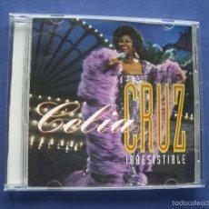 CDs de Música: CELIA CRUZ - IRRESISTIBLE - CD 1994 - 18 CANCIONES. Lote 57855847