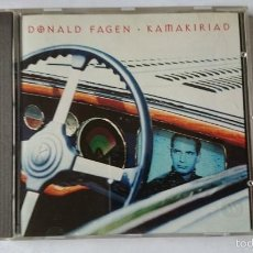 CD de Música: DONALD FAGEN (STEELY DAN) - KAMAKIRIAD (CD ALBUM EDIC. ALEMANA 1993). Lote 57857052