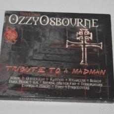 CDs de Música: CD TRIBUTE TO A MADMAN OZZY OSBOURNE HEAVY METAL 2CDS. Lote 57860640
