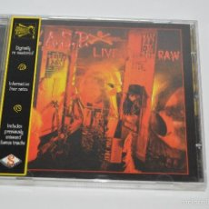CDs de Música: CD WASP LIVE IN THE RAW HEAVY METAL . Lote 57864038