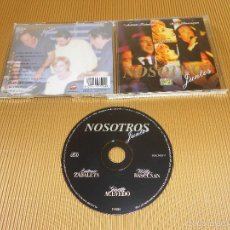 CDs de Música: NOSOTROS JUNTOS - CD - 2 4594 - COLUMBIA - ANTONIO ZABALETA - WILLY BASCUÑAN - GINETTE ACEVEDO. Lote 57866679