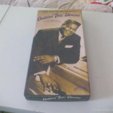CDs de Música: CAJA 4 CDS Y LIBRO: FATS DOMINO: THEY CALL ME THE FAT MAN... THE LEGENDARY IMPERIAL RECORDINGS. Lote 57873917