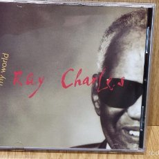 CDs de Música: RAY CHARLES. MY WORLD. CD / WARNER BROS - 1993 - 10 TEMAS / CALIDAD LUJO.. Lote 57874180