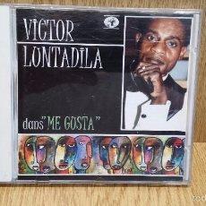 CDs de Música: VICTOR LUNTADILA. DANS ME GUSTA. CD / BAOBAB MUSICA - 1998. 8 TEMAS / MUY BUENA CALIDAD.. Lote 57874442