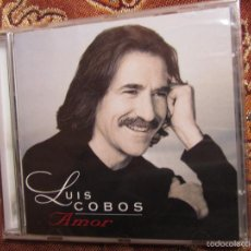 CD de Música: LUIS COBOS CD -TITULO AMOR- CON 11 TEMAS. ORIGINAL DEL 97- PLASTIFICADO DE FABRICA-NUEVO. Lote 57878272