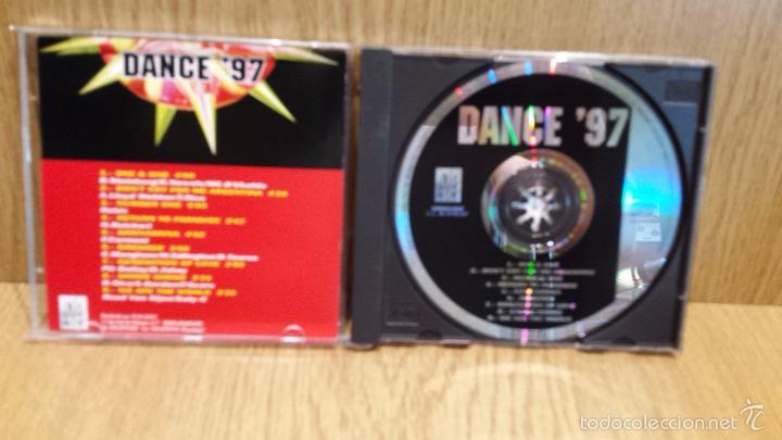 CDs de Música: DANCE97. ARRIVARRIVA. CD / QUE MIK MUSIC - 1997. 9 TEMAS / CALIDAD LUJO. - Foto 2 - 57879307