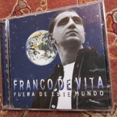 CDs de Música: FRANCO DE VITA - CD - TITULO FUERA DE ESTE MUNDO - 11 TEMAS- ORIGINAL DEL 96- NUEVO AUNQUE ABIERTO. Lote 57888513