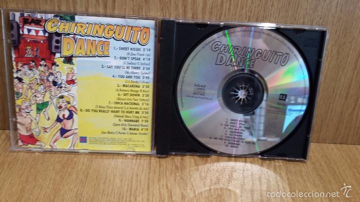 CDs de Música: CHIRINGUITO DANCE. CD / R.B. - 1997. 10 TEMAS / CALIDAD LUJO. - Foto 2 - 57892139