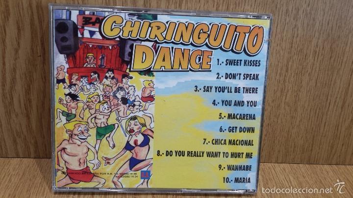 CDs de Música: CHIRINGUITO DANCE. CD / R.B. - 1997. 10 TEMAS / CALIDAD LUJO. - Foto 3 - 57892139
