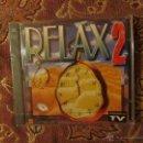 CDs de Música: CD DOBLE DE RELAX 2 135 MINUTOS DE MUSICA PARA RELAJARSE- 24 TEMAS- ORIGINAL DEL 95- PLASTIFICADO. Lote 48002504