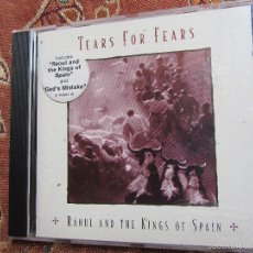 CDs de Música: TEARS FOR FEARS-CD - TITULO AND THE KING OF SPAIN- 12 TEMAS- ORIGINAL DEL 95- NUEVO AUNQUE ABIERTO. Lote 57895654
