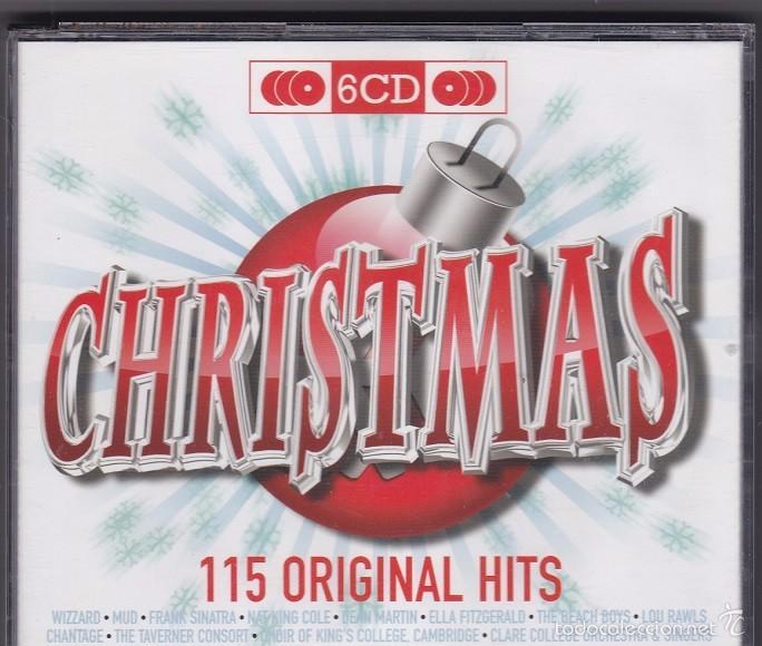CHRISTMAS - 115 ORIGINAL HITS - RECOPILACIÓN DE 6 CDS DE MÚSICA NAVIDEÑA Y VILLANCICOS (Música - CD's Otros Estilos)