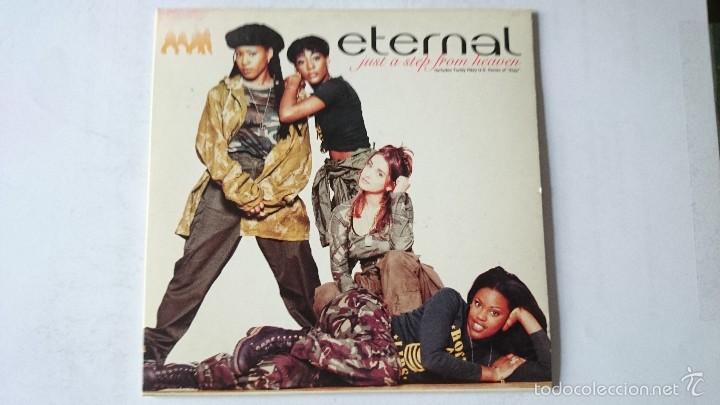ETERNAL - JUST A STEP FROM HEAVEN / STAY (CD SINGLE EDIC. HOLANDESA 1994) (Música - CD's Hip hop)