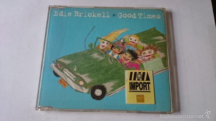 EDIE BRICKELL - GOOD TIMES / PICTURE PERFECT MORNING / LOOK OUT FOR ME (CD  EP EDIC  UK 1994)