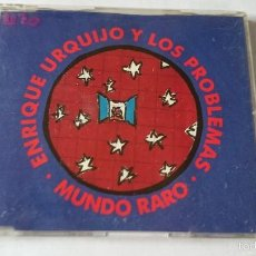 CDs de Música: ENRIQUE URQUIJO Y LOS PROBLEMAS - MUNDO RARO (CD SINGLE 1993). Lote 57918600