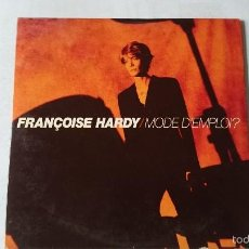 CDs de Música: FRANÇOISE HARDY - MODE D'EMPLOI / CONTRE-JOUR (CD SINGLE EDIC. FRANCO-HOLANDESA 1996). Lote 57921266