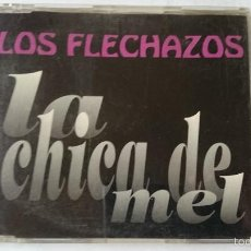 CDs de Música: LOS FLECHAZOS - LA CHICA DE MEL / DRIVE MY CAR / SUZETTE / NO SOY YO (CD MAXI 1993). Lote 57923937