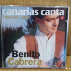 CDs de Música: CANARIAS CANTA. BENITO CABRERA. COLECCION 2000 Nº 1. CD / MANZANA. 10 TEMAS / PRECINTADO.. Lote 57925416