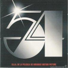 CDs de Música: BSO 54 2 CD. Lote 57929328