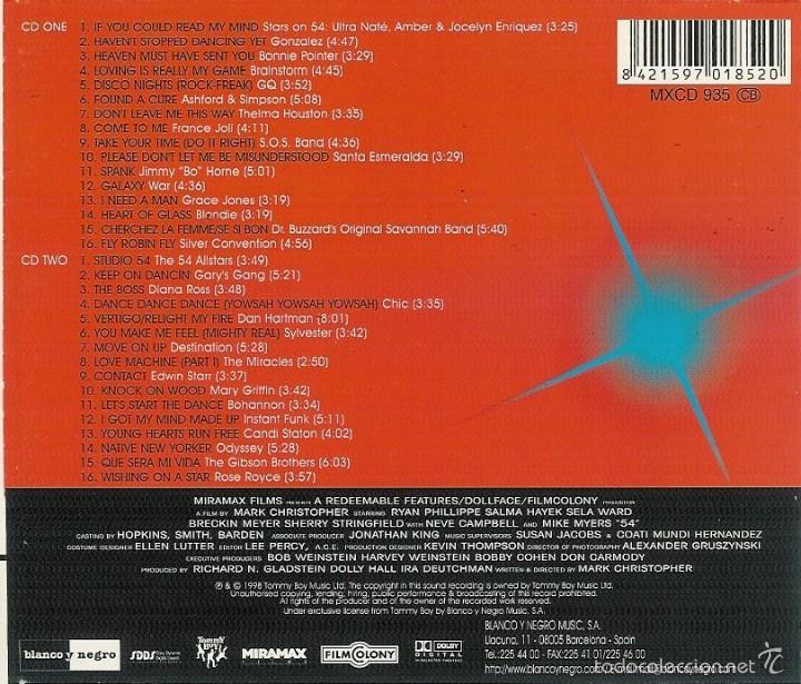 CDs de Música: BSO 54 2 cd - Foto 2 - 57929328