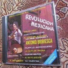 CDs de Música: CD DE LA REVOLUCION MEXICANA CON LOS HNOS. SAMPERIO Y ANTONIO BRIBIESCA ¡¡NUEVO PLASTIFICADO¡¡. Lote 34481930