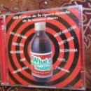 CDs de Música: CD DOBLE WHAT A FEELING- 40 EXITOS DE LA EPOCA DORADA DE LA MUSICA DISCO-NUEVO-. Lote 43922361