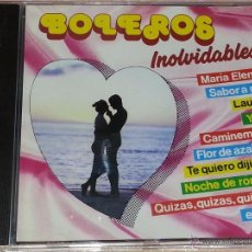CDs de Música: BOLEROS INOLVIDABLES - 18 TEMAS - 1989 - DIVUCSA / PERFIL - CD ALBUM. Lote 53047514