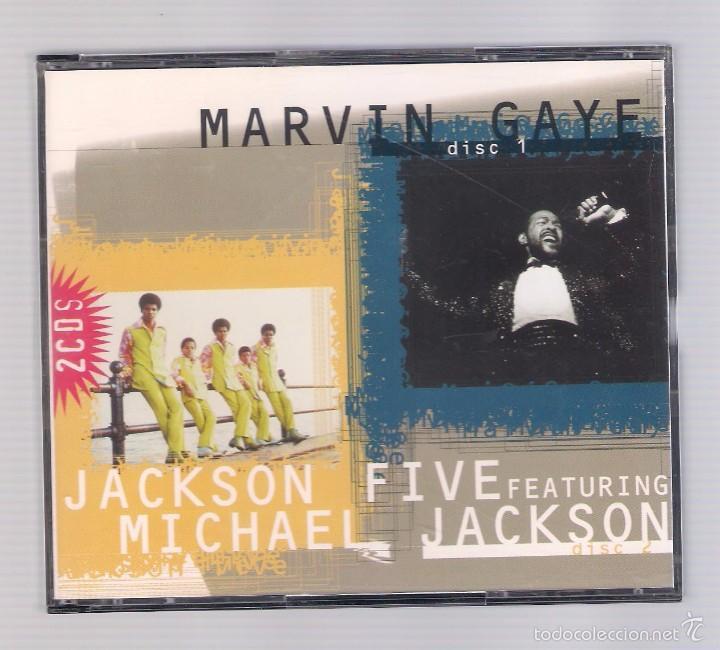 MARVIN GAYE / JACKSON FIVE FEATURING MICHAEL JACKSON (2 CD 1996, MASTER CP 6109) (Música - CD's Jazz, Blues, Soul y Gospel)