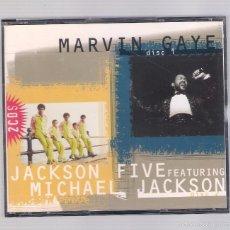 CDs de Música: MARVIN GAYE / JACKSON FIVE FEATURING MICHAEL JACKSON (2 CD 1996, MASTER CP 6109). Lote 57947817