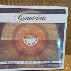 CDs de Música: COBLA LA FLAMA DE FARNERS. CONVIDATS. / SARDANA-FUSIÓ. CD / AFÒNIX - 2011. 13 TEMAS / PRECINTADO.. Lote 57954441