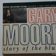 CDs de Música: GARY MOORE - STORY OF THE BLUES (2 VERSIONS) / MOVIN' DOWN THE ROAD / MIDNIGHT BLUES (CD MAXI 1992). Lote 57957631