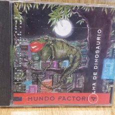 CDs de Música: MUNDO FACTORÍA. ALMA DE DINOSAURIO. CD /FREE RECORDS - 1995, 11 TEMAS / CALIDAD LUJO.. Lote 57958907