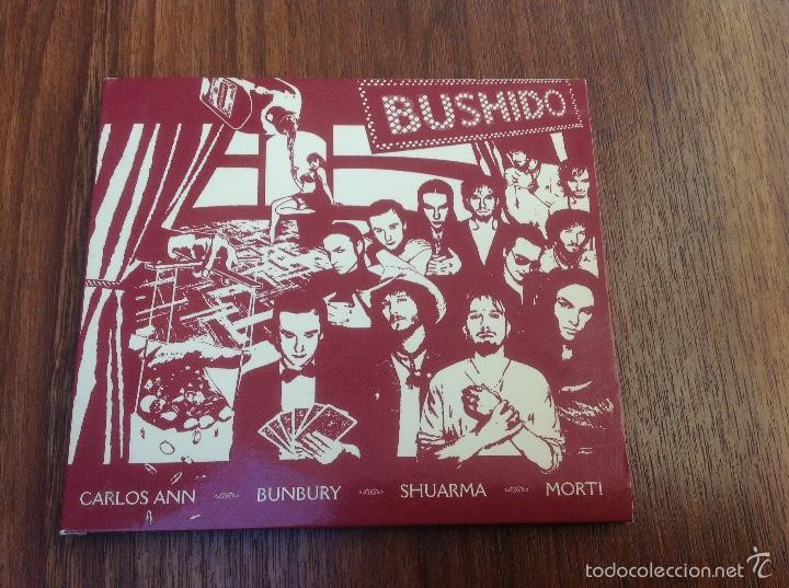 LOTE CD BUSHIDO EMI 2003 Y AVALANCHA HÉROES DEL SILENCIO EMI 1995 (Música - CD's Rock)