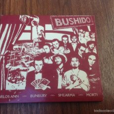 CDs de Música: LOTE CD BUSHIDO EMI 2003 Y AVALANCHA HÉROES DEL SILENCIO EMI 1995. Lote 184274787