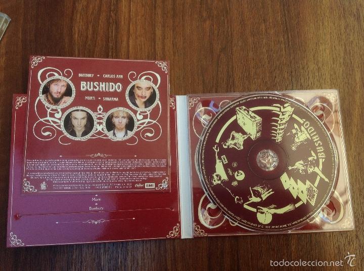 CDs de Música: Lote Cd Bushido EMI 2003 y Avalancha Héroes del Silencio EMI 1995 - Foto 2 - 184274787