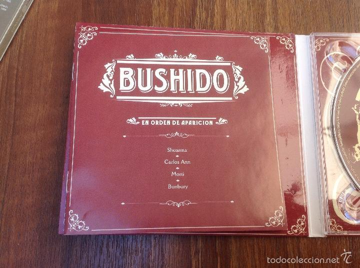 CDs de Música: Lote Cd Bushido EMI 2003 y Avalancha Héroes del Silencio EMI 1995 - Foto 3 - 184274787