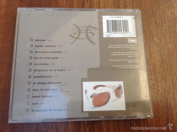 CDs de Música: Lote Cd Bushido EMI 2003 y Avalancha Héroes del Silencio EMI 1995 - Foto 12 - 184274787