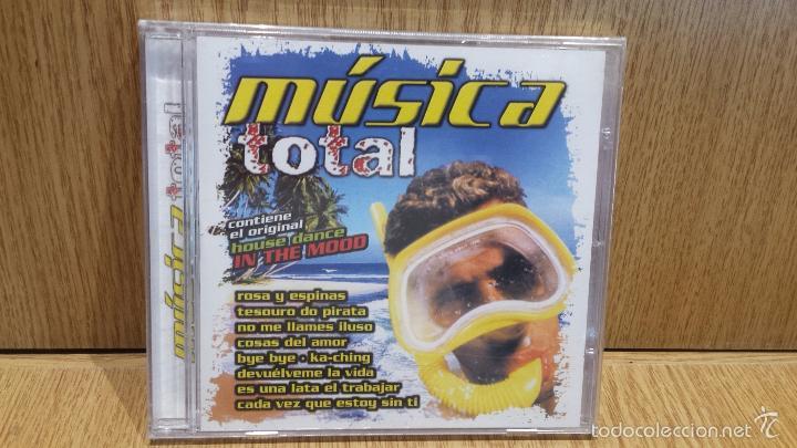 MÚSICA TOTAL. CD / PACIFIC MUSIC - 2003. 15 TEMAS / PRECINTADO. (Música - CD's Disco y Dance)